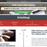 Greip IT aitas luua kriisiblogi.ee
